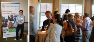 Lund University networking event at Columbia University